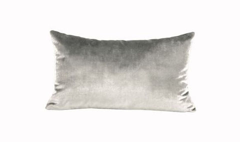 Iosis Cushion | Grey Velvet 33x57