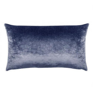 Midnight Blue Velvet Cushion 33x57
