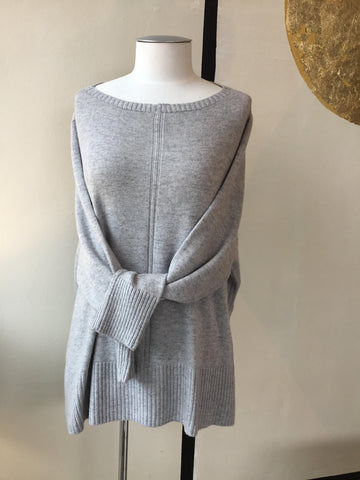 Marella | Light Grey Jumper