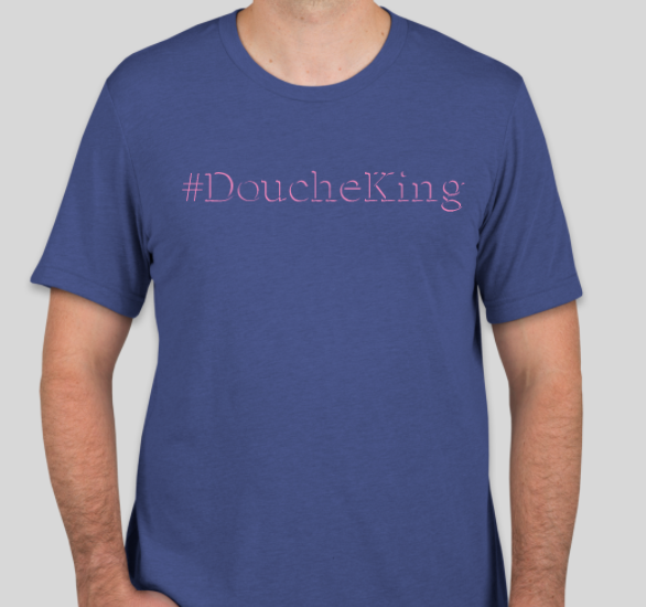 Blue & Purple Douchebag Shirt (Mellow)