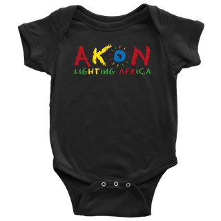 "BABY ""LIGHTING AFRICA"" ONESIE"