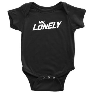 "BABY ""MR LONELY"" ONESIE"