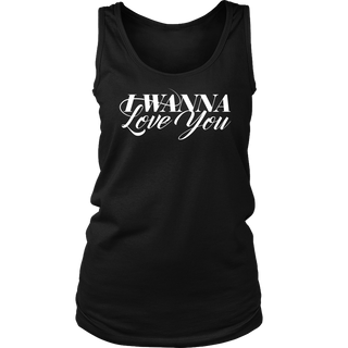 "WOMEN ""LOVE YOU"" TANKTOP"
