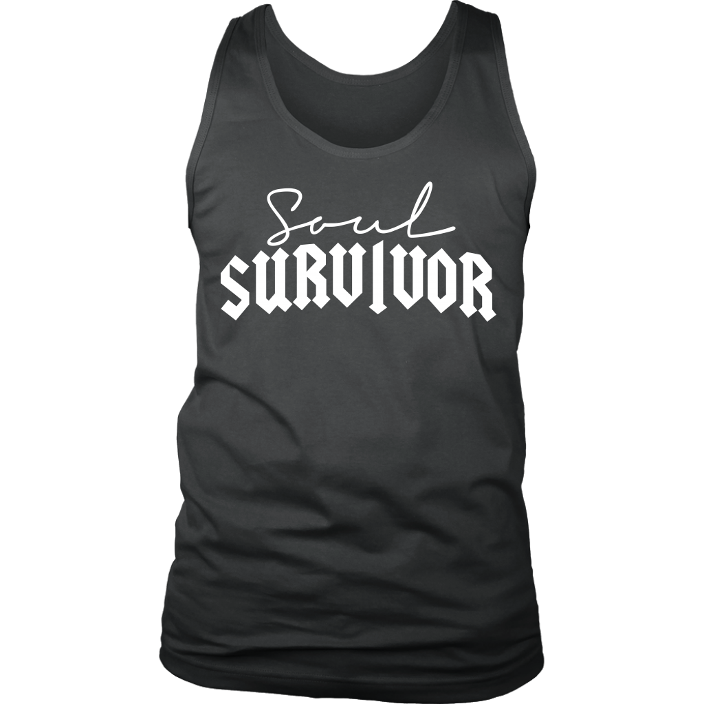 "MEN'S ""SOUL SURVIVOR"" TANKTOP"