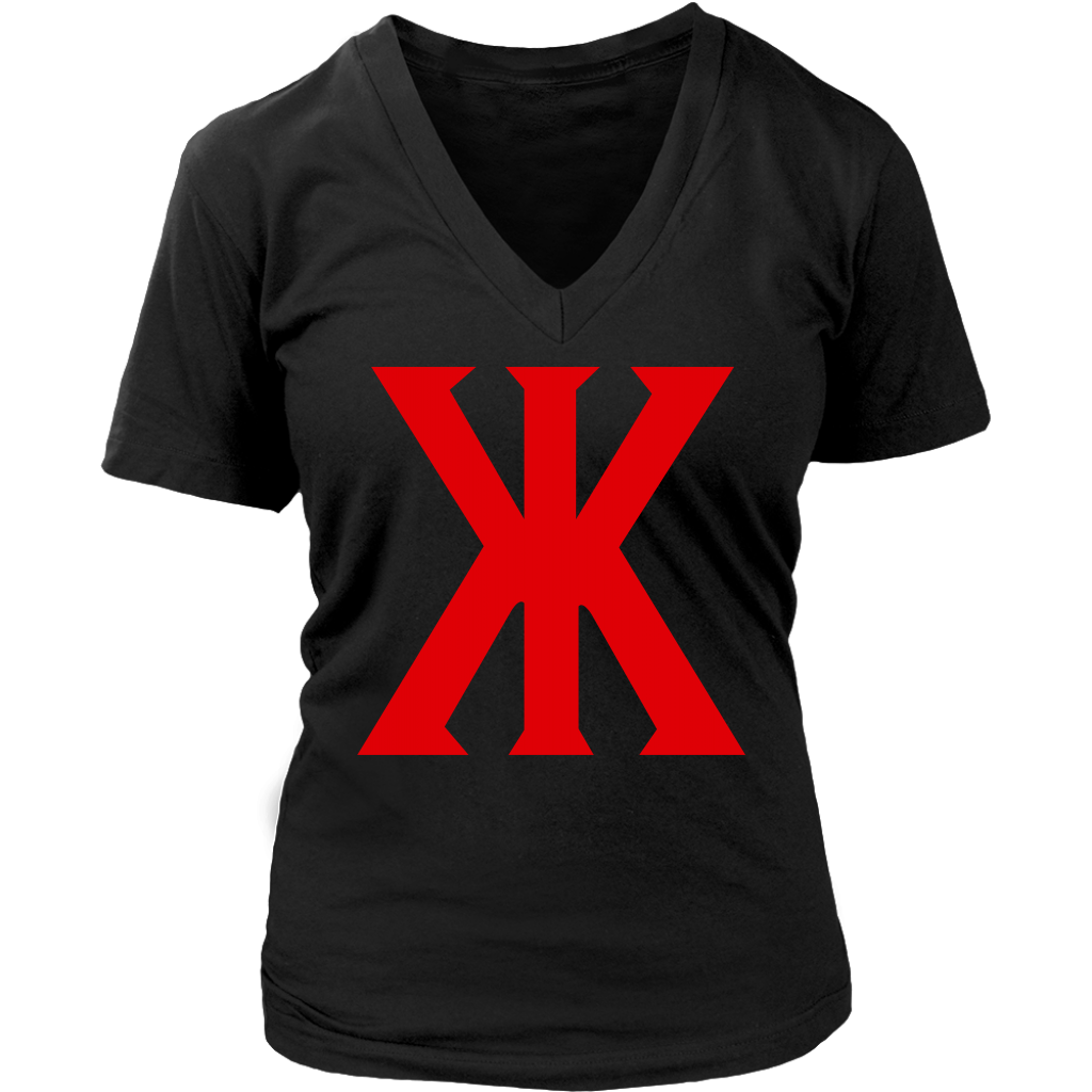 "WOMEN'S ""KONVICT KARTEL"" V-NECK"