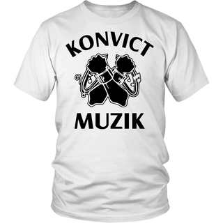 "UNISEX ""KONVICT MUSIC"" T-SHIRT"