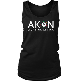 "WOMEN'S ""LIGHTING AFRICA"" TANKTOP"
