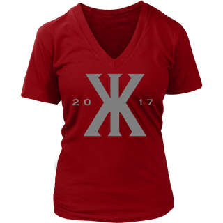 "WOMEN'S ""KONVICT KARTEL"" 2017 V-NECK"