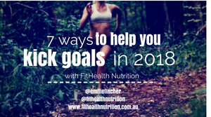 7 Products to help you kick goals in 2018 with Emilie Fincher