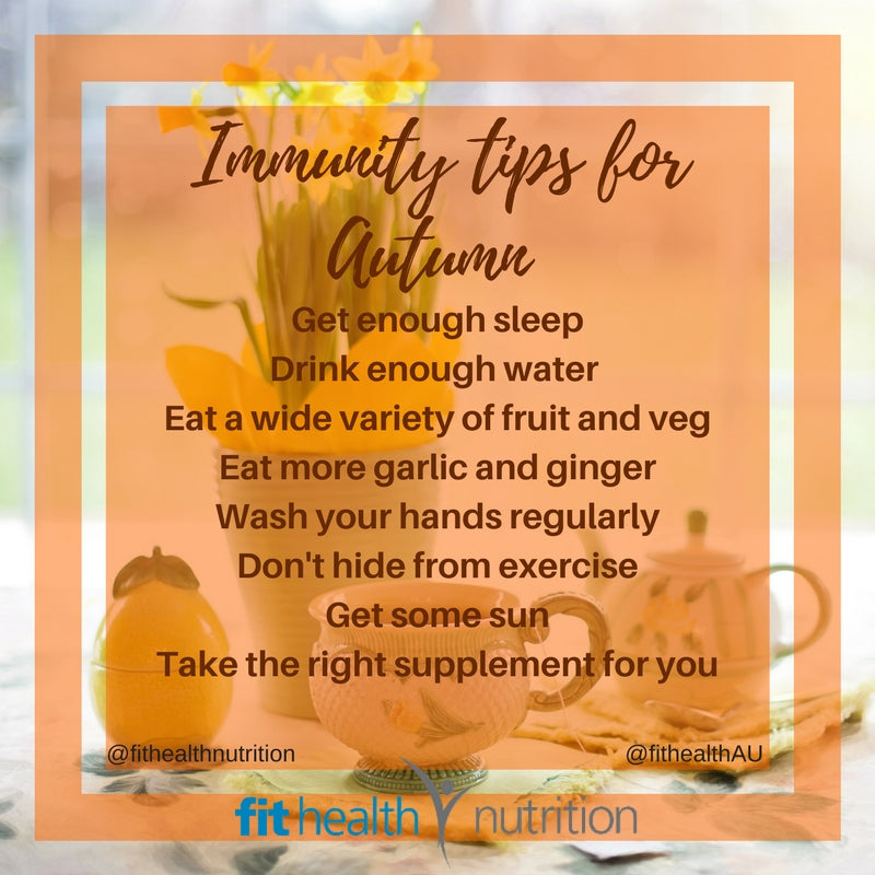 Autumn Immunity Tips With Emilie Fincher