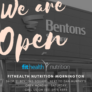 Health Food and Supplement Store at Bentons Square Mornington