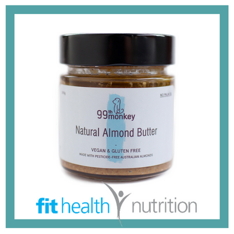 99th Monkey Nut Butter Natural Almond Butter Mornington