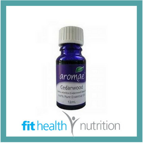 AROMAE cedarwood ESSENTIAL OIL PURE fithealth nutrition