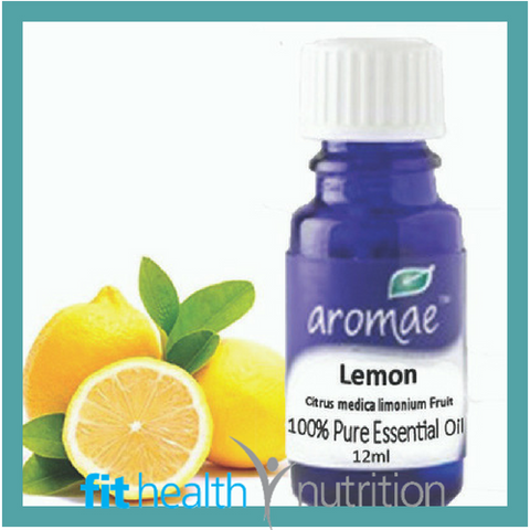 AROMAE lemon ESSENTIAL OIL PURE fithealth nutrition MORNINGTON