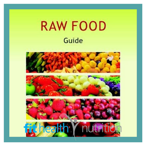 Aracacia Guide Raw Food Book