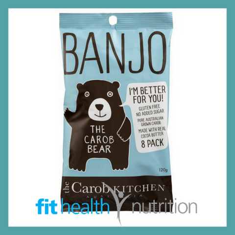 BANJO CAROB BEARS 8 PACK ORIGINAL