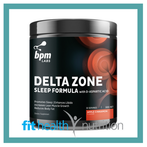 BPM Labs Delta Zone Apple Cinnamon
