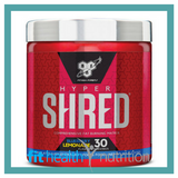 BSN HyperShred Fat Burning Preworkout Blueberry Lemonade 30 serves