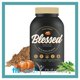 Clear Vegan Blessed Plant-based Vegan Australian Protein Salted Caramel