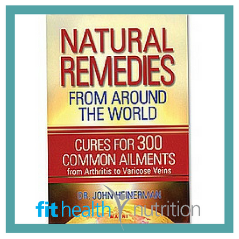 Book Natural Remedies from Around the World