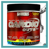 NDS Cardio Cuts Fat Burning Preworkout Australia Gummy Rush