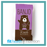 The Carob Kitchen Banjo Bear Healthy Chocolate Coconut Pink