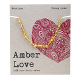 Amber Love Baltic Amber Necklace Honey Love