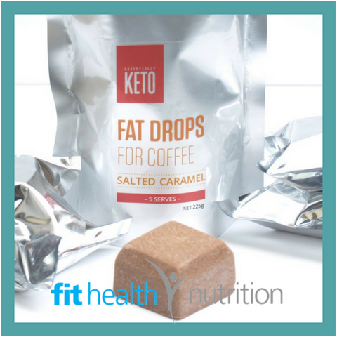 Essentially Keto Fat Drops for Bulletproof Coffee Salted Caramel