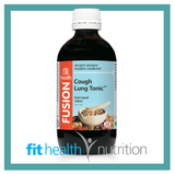 Fusion Health Cough Lung Tonic Liquid