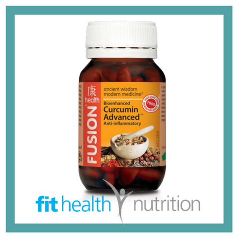 Fusion Health Turmeric Cucurmin Advanced