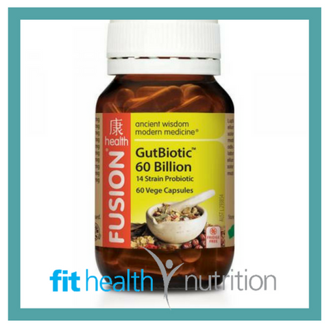 Fusion Health GutBiotic 60 Billion