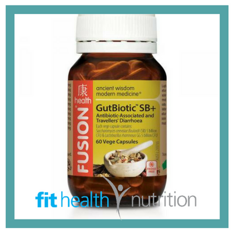 Fusion Health Gut Biotic SB+ Travellers Probiotic
