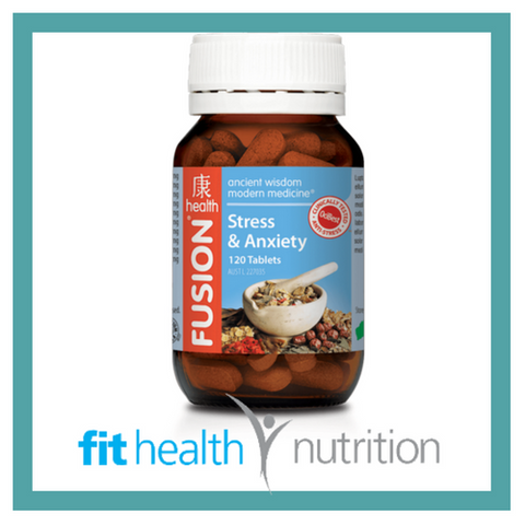 Fusion Health Stress & Anxiety Formula
