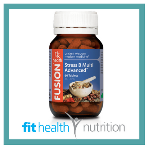 Fusion Health Stress B Multivitamin Advanced