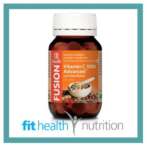 Fusion Health Vitamin C with Elderflower