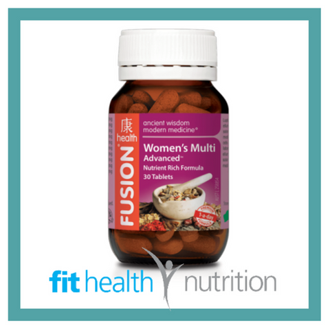 Fusion Health Womens Multivitamin Advanced