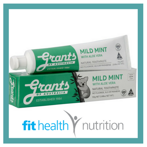 Grants Natural Toothpaste Original with Aloe Vera