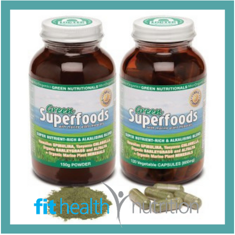 Green Nutritional Green Superfoods