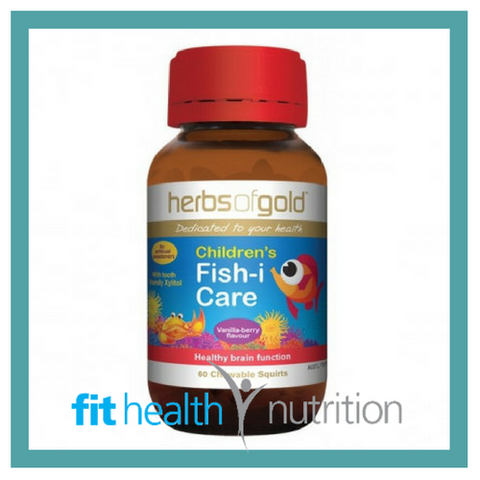 Herbs of Gold Childrens Fish-i-Care