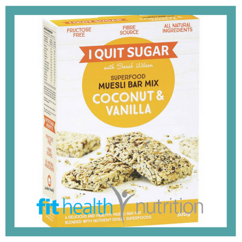I Quit Sugar Bake at Home Muesli Bar