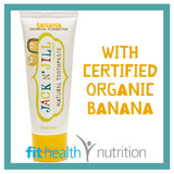 Jack and Jill Childrens Natural Toothpaste Banana