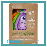 Little Mashies Reusable Yoghurt Smoothie Pouch Assorted Box of 10