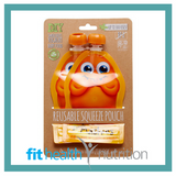 Little Mashies Reusable Yoghurt Smoothie Pouch Orange