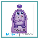 Little Mashies Reusable Yoghurt Smoothie Pouch Purple