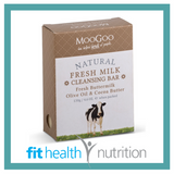 Moogoo Natural Fresh Milk Cleansing Bar Soap with Buttermilk, Olive Oil & Cocoa Butter