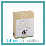 Moogoo Natural Fresh Milk Cleansing Bar Soap with Fresh Ground Oatmeal, Buttermilk & Honey