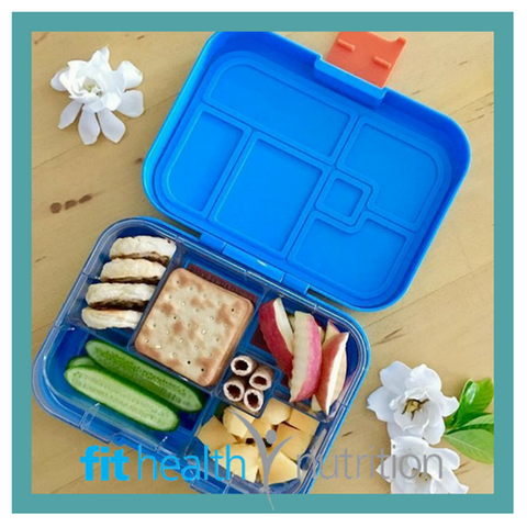 My Munchbox Maxi 6 Tray with Food Bento Box