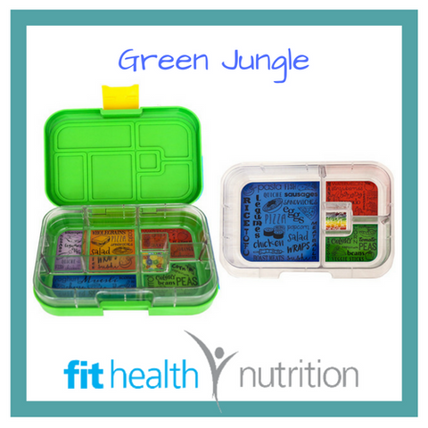 My Munchbox Bento Box Mix n Match Green Jungle