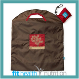 Onya Reusable Shopping Bag Large Olive Red Tree