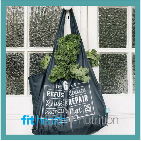 ONYA Reusable Shopping Tote Charcoal